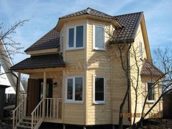 Проект Д-13. Дом из бруса 6x7 для небольшого дачного участка