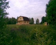 Проект Д-10. Дом из бруса 7.5x6 с террасой и мансардой